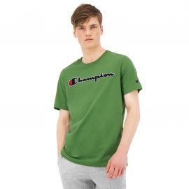 Tee shirt CHAMPION vert bouclette