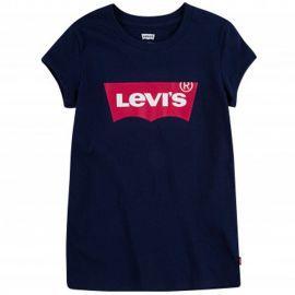 Tee shirt LEVI's fille bleu marine et rouge