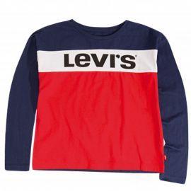 Tee shirt junior LEVI'S Bleu blanc rouge