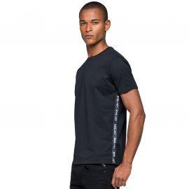 Tee shirt REPLAY noir à bande
