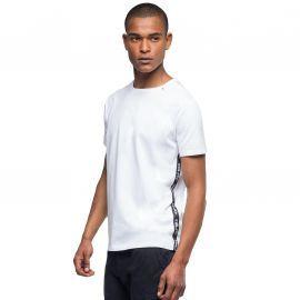 Tee shirt REPLAY Blanc à bande