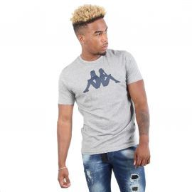 Tee shirt kappa Authentic lifestyle Gris