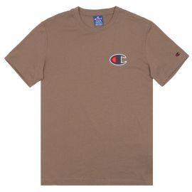 Tee shirt Champion kaki basic logo