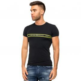 Tee shirt Armani noir et jaune