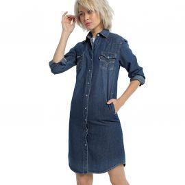 Robe en jeans lois