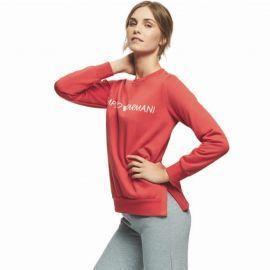 Sweat femme EMPORIO ARMANI rouge
