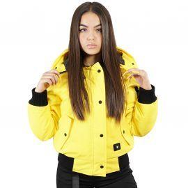 Parka Madrid jaune femme comme des loups