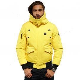 Veste homme Chauffante CHICAGO jaune comme des Loups