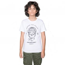 Tee shirt DEELUXE INGENIOUS blanc junior