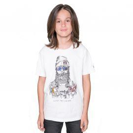 Tee shirt TELLIER DEELUXE junior blanc