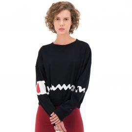 Tee shirt manches longues noir 111974