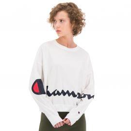 Tee shirt manches longues champion blanc111974