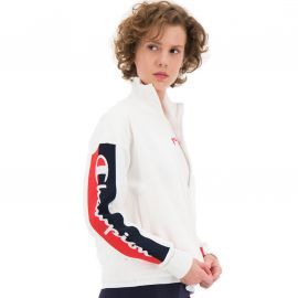 Sweat champion zipé 112145 blanc
