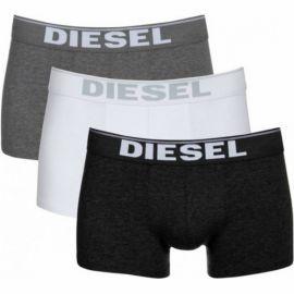 Pack de 3 boxer DIESEL noir, gris et blanc