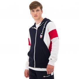 Veste zippé de la marque champion 213639 bleu blanc rouge