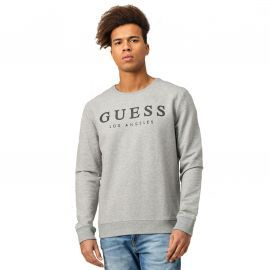 Sweat Guess gris M01q54 col rond