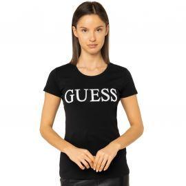 Tee shirt Femme guess noir W01I74