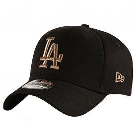 Casquette Los Angeles noir et camel new era 12040456