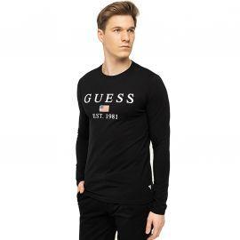 Tee shirt Guess manche longue noir M01I70