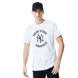 Tee shirt New york Yankees blanc 12195420