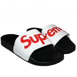 Claquette SUPREME GRIP 5002.slp noir/blanc/rouge