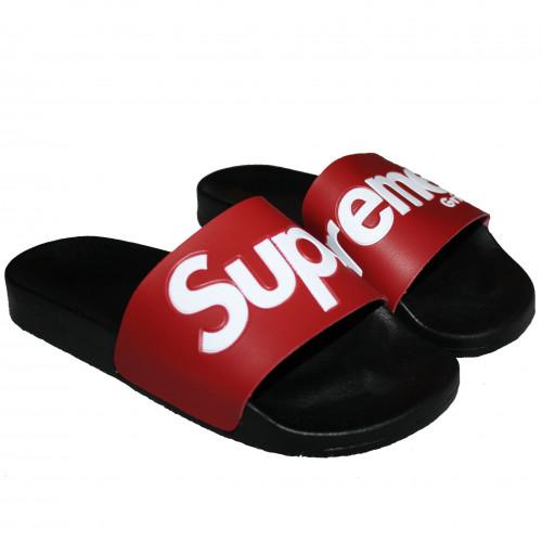 Claquette SUPREME GRIP noir et rouge 5002-SLP