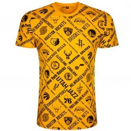 Tee shirt jaune NBA team jaune 12195413
