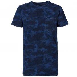 Tee shirt Petrol Industries junior bleu et noir