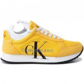 Basket Calvin klein femme jaune JOSSLYN B4R0825