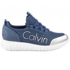 Basket Calvin klein REIKA bleu clair R0666