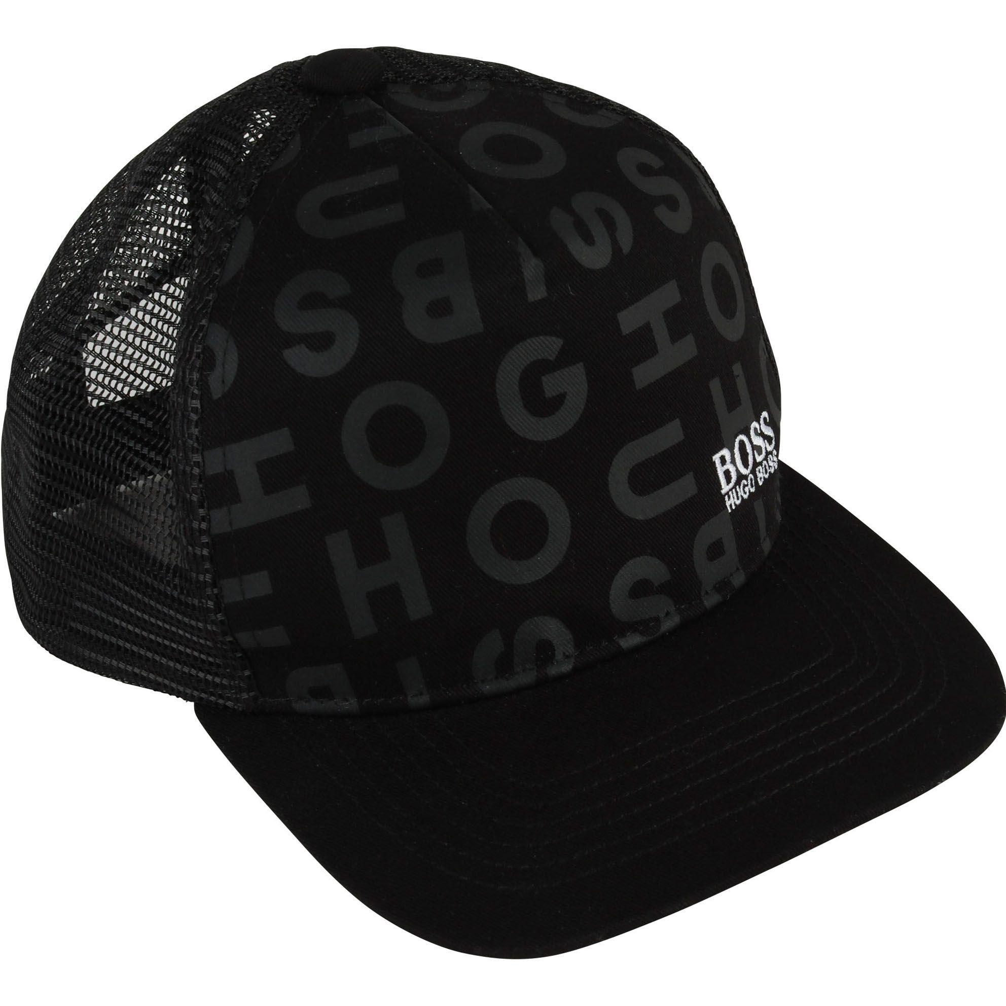 Hugo Boss Capuchon Casquette Noir One Size