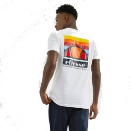 Tee shirt homme OFFREDI SHE08531 blanc