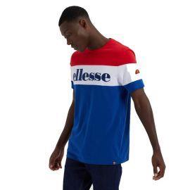 Tee shirt tricolor ELLESSE PUNTO SHE08505 rouge blanc bleu