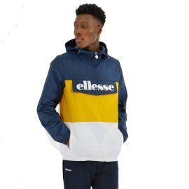 Veste enfilable tricolor homme ELLESSE DOMANI SHE08504 bleu jaune blanc