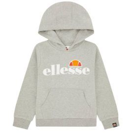Sweat capuche junior ELLESSE JERO S3E8575 gris clair
