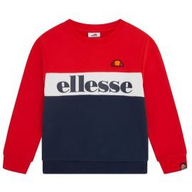 Sweat tricolor junior ELLESSE DENOMINO S3E08589 rouge blanc bleu
