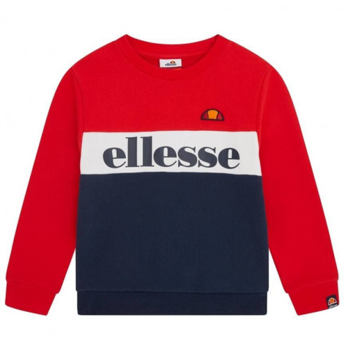 Sweat tricolor junior ELLESSE DENOMINO S3E08589 rouge blanc bleu