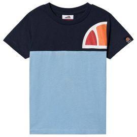Tee shirt bicolor junior ELLESSE ADELO S3E8585 bleu turquoise