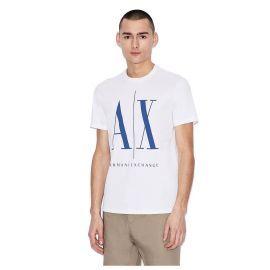 Tee shirt homme ARMANI EXCHANG 8NZTPA ZJH4Z blanc