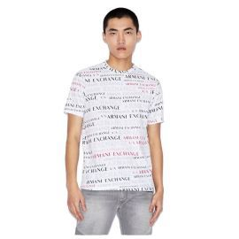 Tee shirt homme ARMANI EXCHANGER 3HZTFC ZJH4Z blanc