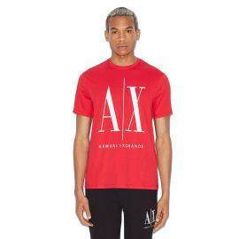Tee shirt ARMANI EXCHANGE 8NZTPA ZJH4Z rouge