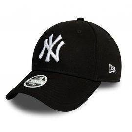Casquette femme new era noir avec logo blanc yankees 12122741
