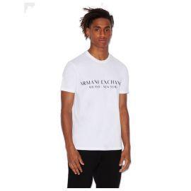 Tee shirt homme ARMANI EXCHANGE 8NZT72 Z8H4Z BLANC