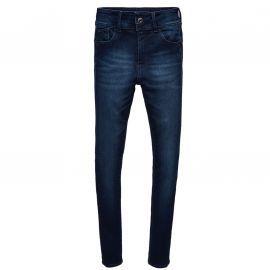 Jeans Fille Gstar LYNN Super Skinny Taille Haute Bleu