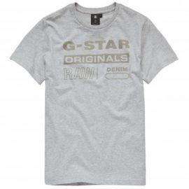Tee shirt Gstar Raw gris Sq10036