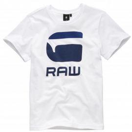 Tee shirt Gstar-raw blanc SQ10026