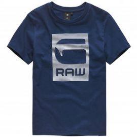 Tee shirt Gstar bleu marine sq10086