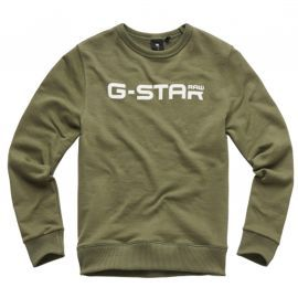 SWEAT J SQ15016 KAKI GSTAR
