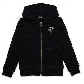 Veste zippé capuche junior UMLT SBRANDON 00J4MP OCAND K900 noir
