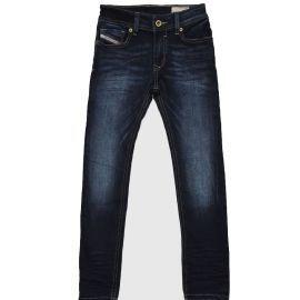 Jean slim skinny junior DIESEL SLEENKER 00J3RJ KXB3U K01 bleu